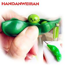 Click to Buy << <b>New Creative</b> Fun Beans <b>Extrusion Pea</b> Bean ...