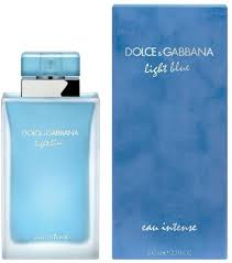 <b>Dolce&Gabbana Light Blue</b> Eau <b>Intense</b> EdP 100ml in duty-free at ...