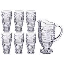 Купить <b>Набор для сока</b>/<b>воды</b> 7пр.: кувшин 1500мл + 6 стаканов ...