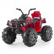 <b>Детский</b> электроквадроцикл BDM Grizzly ATV Red 12V с пультом ...