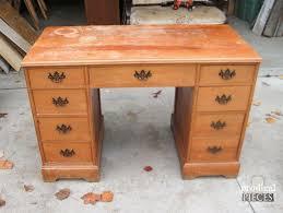 worn out vintage desk gets makeover by teenage boy painted furniture amazing vintage desks