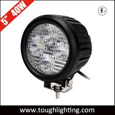 China Waterproof <b>5 Inch 40W</b> Round CREE <b>LED</b> Car Driving Lights ...