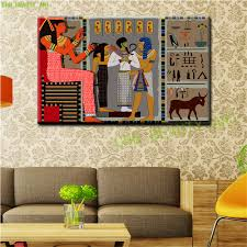 egyptian pharaoh bedroom product egypt egypt canvas painting modern abstract oil painting wall pictures for l