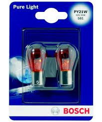 Купить <b>Лампа</b> накаливания <b>BOSCH PY21W</b> с доставкой по цене ...