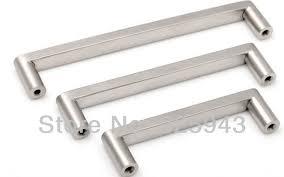 2pcs 128mm brushed nickel bedroom furniture hardware door handle kitchen cabinet knobs dresser drawer pulls bedroom furniture pulls