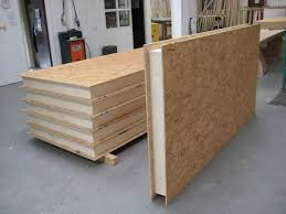 structural insulated panels sips self build for garden office studio garage building a garden office