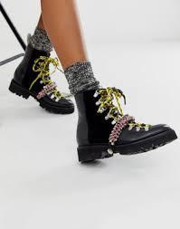 Кожаные походные ботинки со <b>шнурками</b> из паракорда разных ...