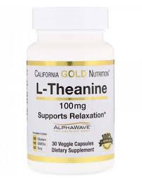 <b>L</b>-<b>Theanine 100</b> mg <b>60</b> капс (California Gold Nutrition) купить в ...