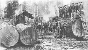 Image result for vintage logging idaho images
