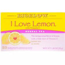 Grocery <b>Herbal Tea I Love</b> Lemon Vitamin C