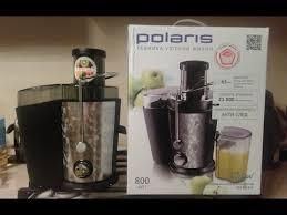 <b>Соковыжималка Polaris</b> обзор и тест. Первый отжим сока ...