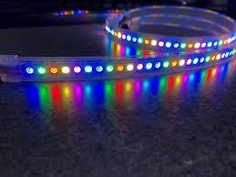 <b>WS2812</b> / <b>WS2812B</b> LED Strip, 30/60/96/144 LED/m, IP67 waterproof