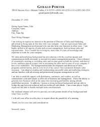 category effective cover letter sample