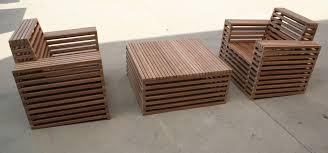 timber patio furniture
