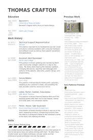 Technical Support Representative Resume Samples   VisualCV Resume     VisualCV