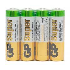 Батарейка <b>GP Super</b> AA (LR06) 15A алкалиновая, SB4 купить оптом