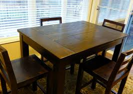 table bar height chairs diy:  stylish tryde counter height kitchen table do it yourself home projects for counter height kitchen table