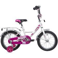 Велосипед <b>Novatrack Urban 14</b>*, <b>белый</b> - 143URBAN.WT9 ...