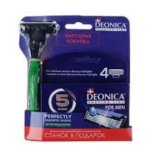 Сменные <b>кассеты Deonica for men</b>, 5 лезвий, 4 шт (3807694 ...