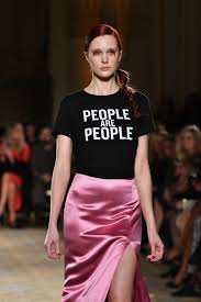 "<b>Christian Siriano's</b> Message on the Runway: ""<b>People Are People</b>"""