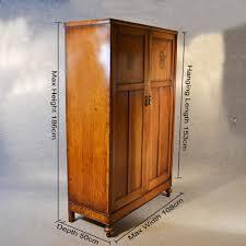 antique wardrobe oak edwardian english armoire compactum linen press c1910 268877 sellingantiquescouk antique armoires antique wardrobes english