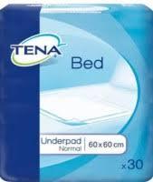 Tena <b>Bed</b> Underpad Normal 60x60 / 30 pcs – купить <b>пеленки</b> ...