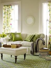 living room carolina design associates: green white living room  green white living room