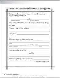 ideas about compare and contrast on pinterest  first grade compare and contrast writing template   google search