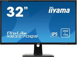 """Купить <b>монитор iiyama ProLite XB3270QS-B1</b> 32"""", черный. Цена ..."""