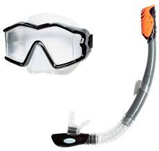 Набор для плавания <b>Intex Silicone aqua</b> pro — купить по выгодной ...