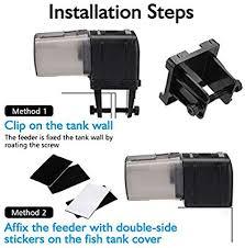 Aquarium <b>Automatic</b> Feeder, Focuspet <b>Auto</b> Fish Food Dispenser ...