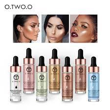 <b>O</b>.<b>TWO</b>.<b>O Liquid Highlighter</b> Make Up Primer Shimmer <b>Face</b> Glow ...