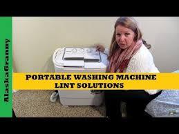 Portable <b>Washing Machine</b> Lint Solution <b>Filter</b> Bag - YouTube
