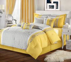 design yellow grey bedroom ideas