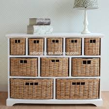 white storage unit wicker: white wood wicker storage basket drawer cabinet furniture hobby lobby buy furniture hobby lobbyused hotel lobby furniturehotel lobby furniture product