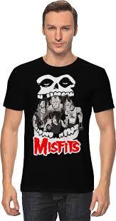 <b>Футболка классическая Printio Misfits</b> band #679174
