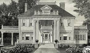 american colonial homes brandon inge: heres a catalog picture of the sears magnolia