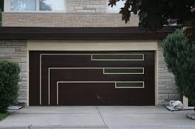 Image result for mid century modern garage door