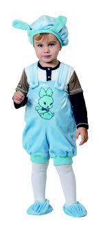 <b>Карнавальный костюм</b> для детей <b>Кролик</b> голубой (крошки). <b>Батик</b> ...