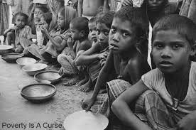 poverty is a curse to mankind   a high school essay   india