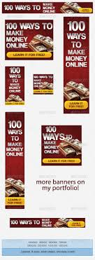 make money online banner ad template by admiral adictus graphicriver make money online banner ad template banners ads web elements