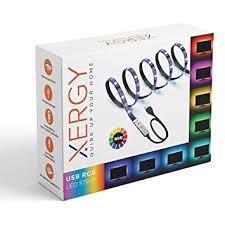 Buy XERGY <b>USB 5V</b> 5050 <b>RGB LED</b> Flexible Strip Light Multi-Color ...