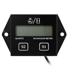 HEXIANG B707 12V 5W <b>Digital Engine Tach Tachometer Hour</b> ...