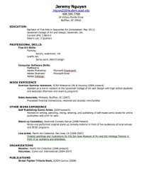 perfect resume examples  seangarrette cohow to create a resume create simple resumes     perfect resume
