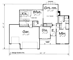 First Floor Master  Manitou Front Elevation Manitou First Floor Plan