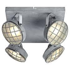 <b>Спот Lussole Loft LSP</b>-9981 для гостиной серый лофт 300х150 мм