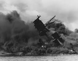 who was to blame for the bombing of pearl harbor writework the uss arizona bb 39 burning after the ese attack on pearl harbor