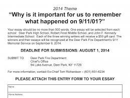 dpfd announces    essay contest for deer park students   deer    dpfd announces    essay contest for deer park students   deer park  ny patch