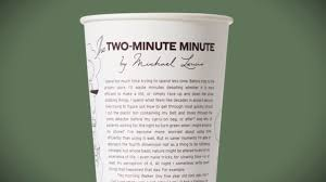 chipotle to serve two minute essays by george saunders toni two minute minute by michael lewis for chipotle