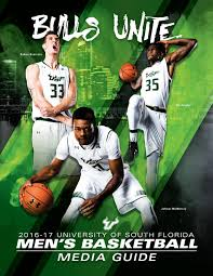 usf men s basketball media guide by usf bulls issuu